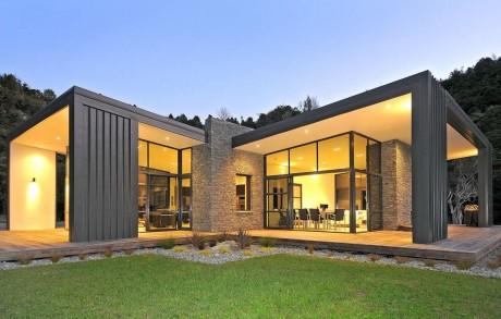 Лесной дом в Новой Зеландии