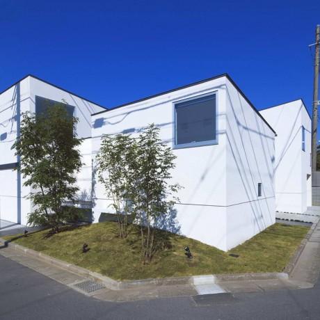 Дом с ателье в Японии