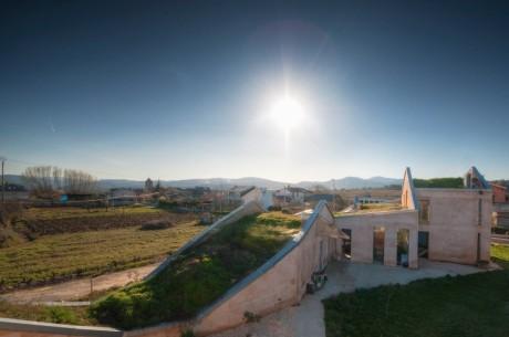 Дом-ландшафт в Испании