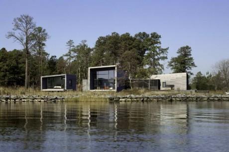 Дом на острове в США