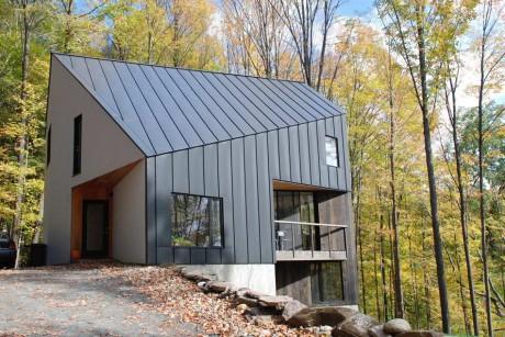 Лесной дом в США 8
