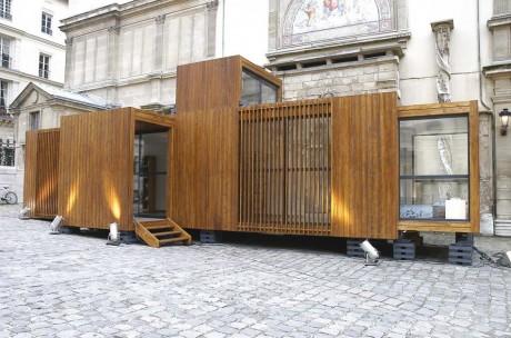 Модульный дом во Франции