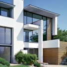 Дом MIKI 1 (MIKI 1 House) в Германии от Alexander Brenner Architects.