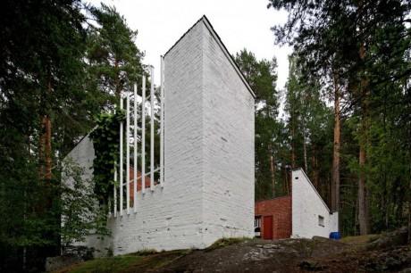 Экспериментальный дом в Мууратсало (Muuratsalo Experimental House) в Финляндии от Алвара Аалто (Alvar Aalto).
