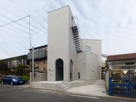 Дом с арками в Японии