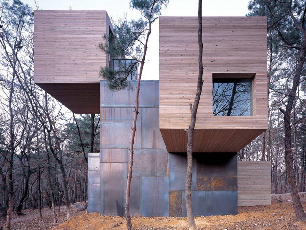 Дома необычный дизайн