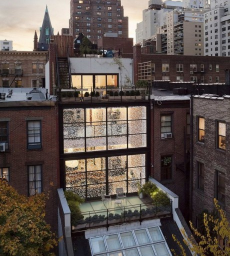 Реконструкция дома в Нью-Йорке