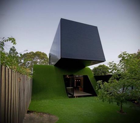 Дом с холмом в Австралии