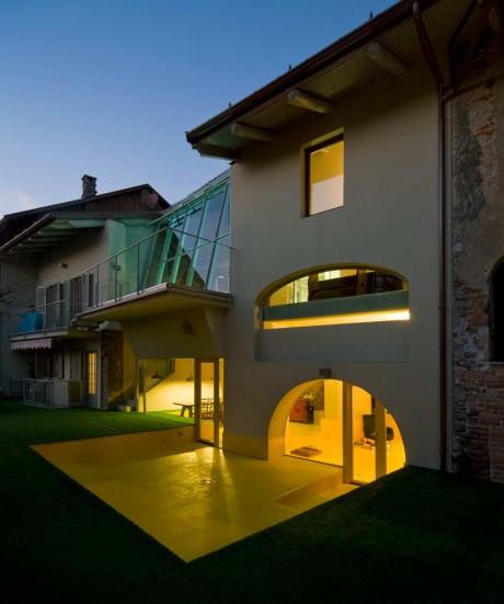 Реконструкция дома в Италии 4
