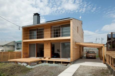Деревянный дом в Японии 3