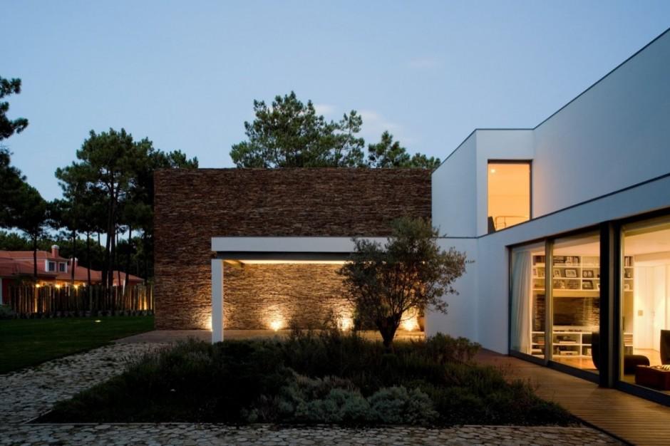 Дизайн дом у озера