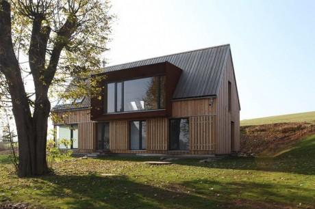 Дом с мезонином в Чехии