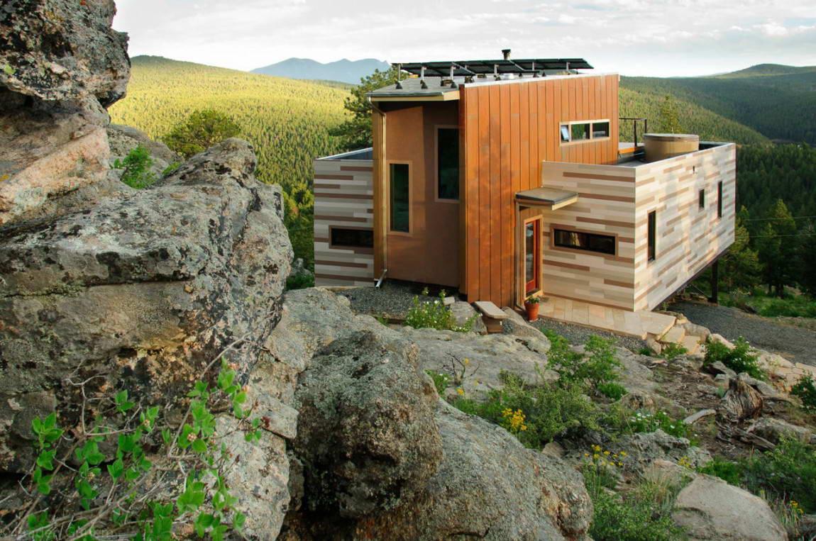 Спальня загородный дом дизайн