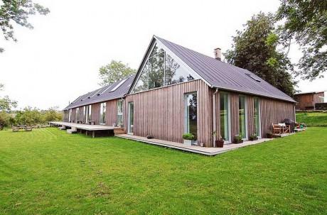 Дом из фермы в Швеции