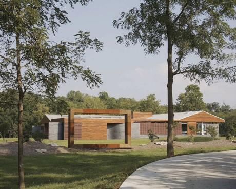 Загородный дом в США 11