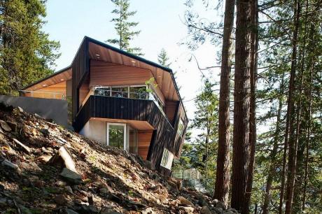 Лесной дом в Канаде 2