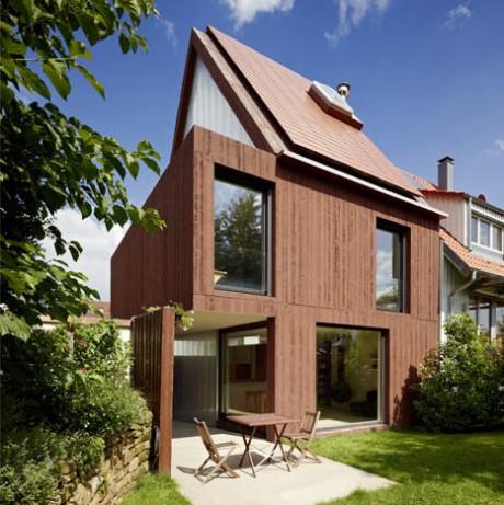 Бетонный дом в Германии 3