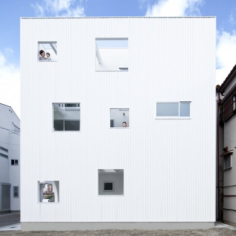 Городской дом в Японии 33