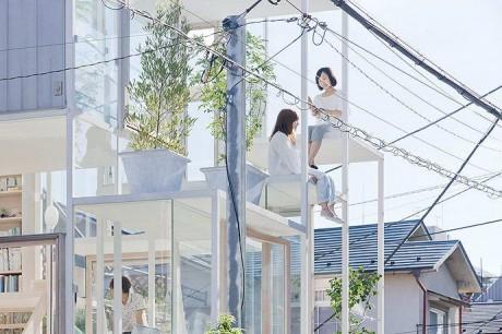 Стеклянный дом в Японии 2