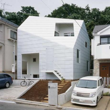 Городской дом в Японии 34