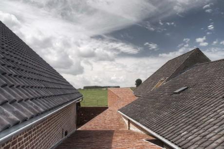 Дом из фермы в Бельгии