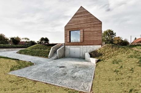 Летний дом (Summer House) в Австрии от Judith Benzer Architektur.