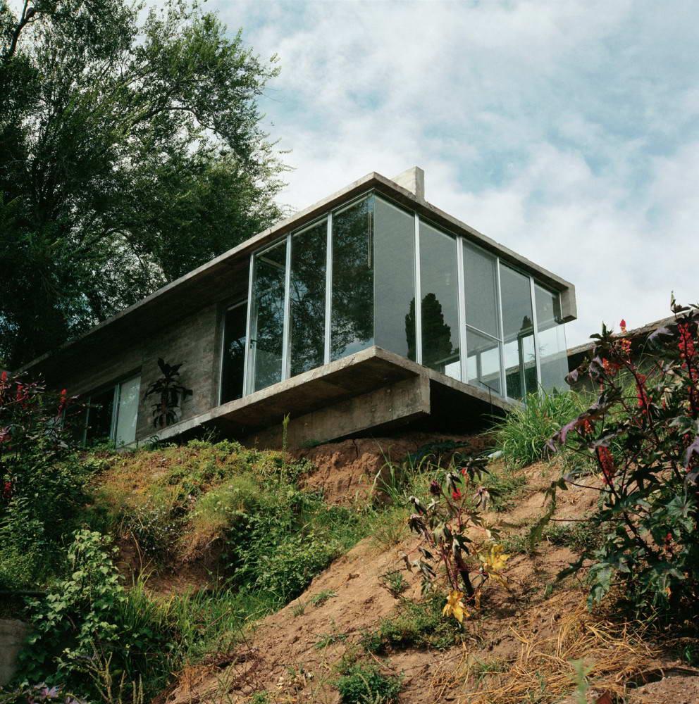 Дом в склоне проекты фото