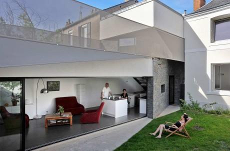 Расширение дома во Франции 4