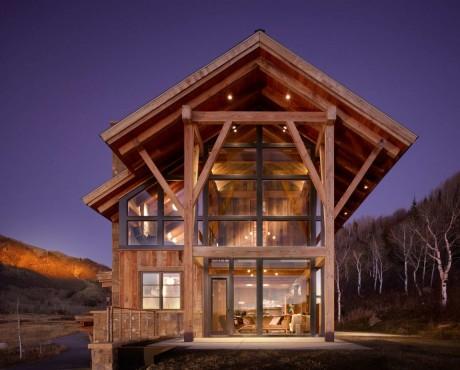 Деревянный дом в США 3