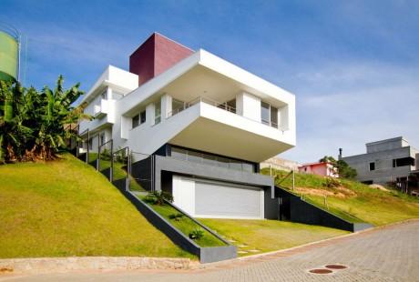 Дом на склоне в Бразилии 4