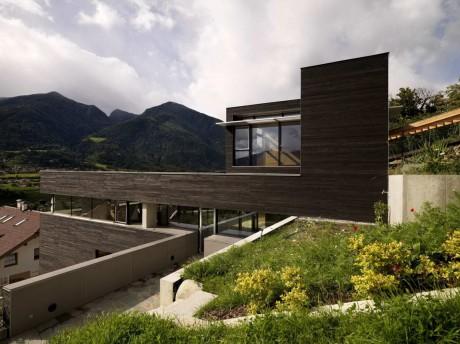 Дом на склоне в Италии