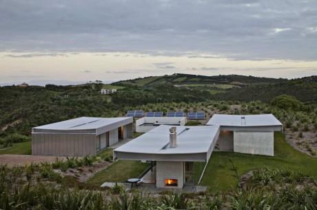 Дом на острове в Новой Зеландии