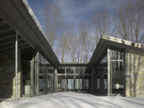 Лесной дом в Канаде 3