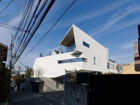 Двойной дом в Японии