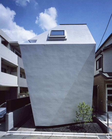 Городской дом в Японии 38