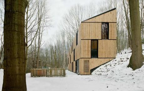 Лесной дом в Бельгии 2