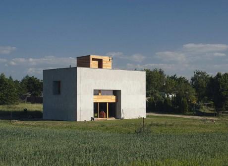 Кубический дом в Чехии