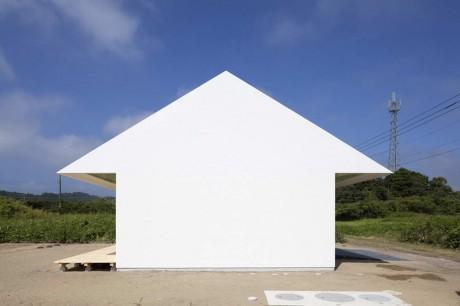 Дом-стрелка в Японии