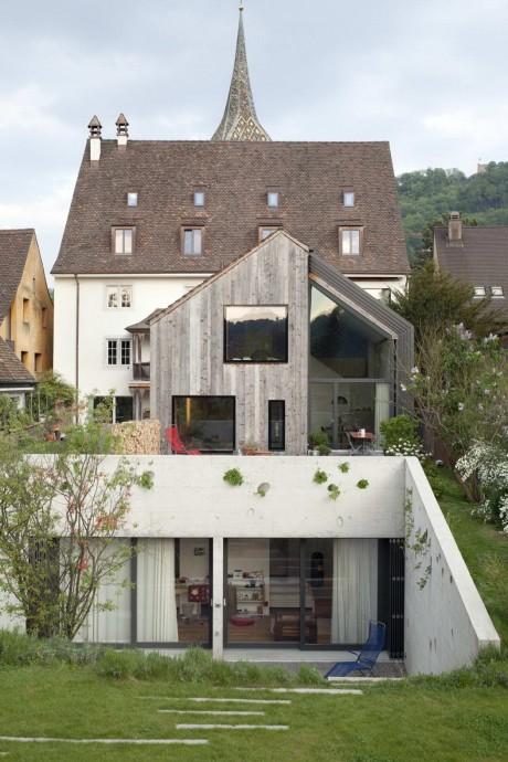Расширение дома в Швейцарии 2