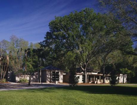 Лесной дом в США 10