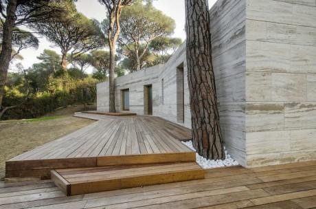 Лесной дом в Италии