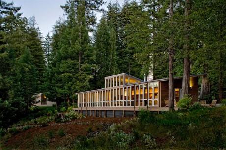 Лесной дом в США 11