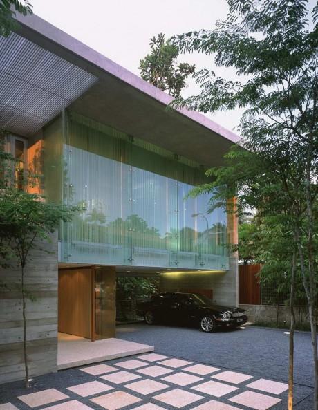 Дом с садом в Сингапуре