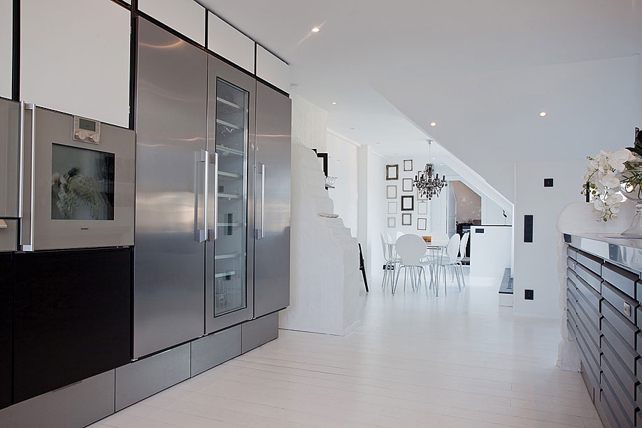 White Penthouse in Stockholm 6