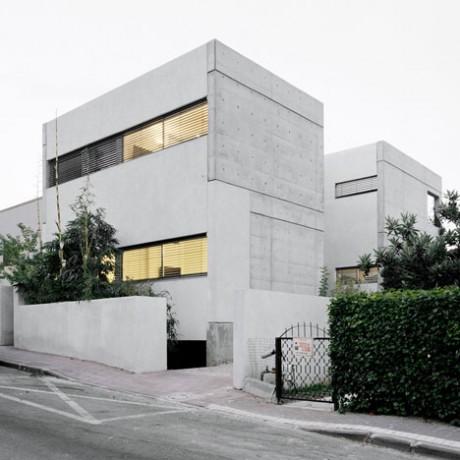 Бетонный дом в Израиле