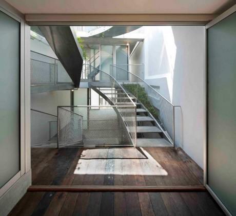 Реконструкция дома в Сингапуре