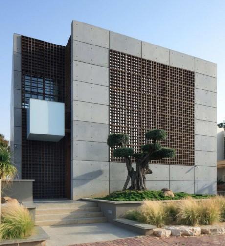 Дом-куб в Израиле