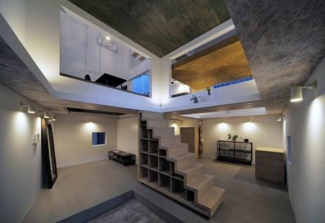 Городской дом в Японии 40