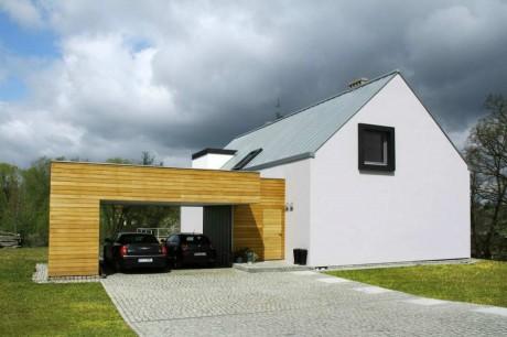 Дом у пруда в Польше