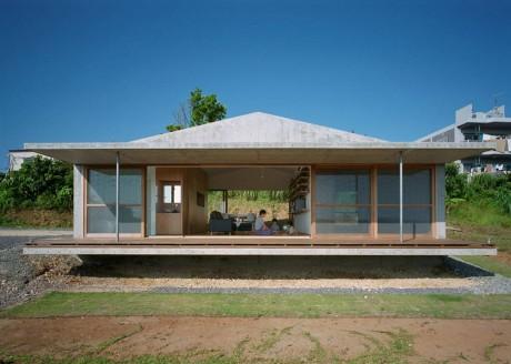 Дом на острове в Японии 3